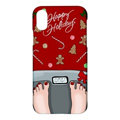 Hilarious Holidays  Apple Iphone X Hardshell Case by Valentinaart