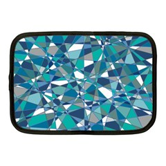 Abstract Background Blue Teal Netbook Case (medium)  by Celenk