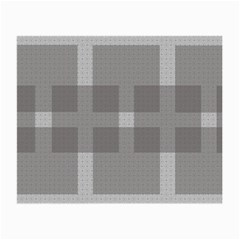 Gray Designs Transparency Square Small Glasses Cloth by Celenk