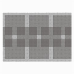 Gray Designs Transparency Square Large Glasses Cloth by Celenk