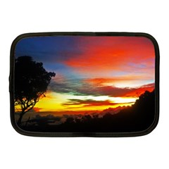 Sunset Mountain Indonesia Adventure Netbook Case (medium)  by Celenk