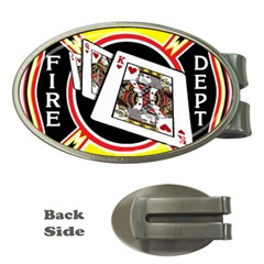 Las Vegas Fire Department Money Clips (oval)  by teambridelasvegas