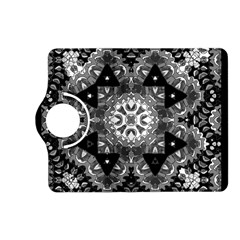 Mandala Calming Coloring Page Kindle Fire Hd (2013) Flip 360 Case by Celenk