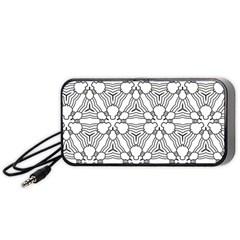 Pattern Design Pretty Cool Art Portable Speaker