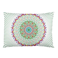 Flower Abstract Floral Pillow Case (two Sides)
