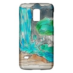 Doodle Sketch Drawing Landscape Galaxy S5 Mini by Celenk