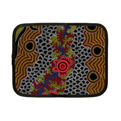 Aboriginal Art   Meeting Places Netbook Case (small)  by hogartharts