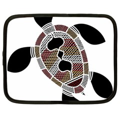 Aboriginal Art   Untitled Netbook Case (xl)  by hogartharts