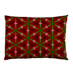 Textured Background Christmas Pattern Pillow Case (two Sides)