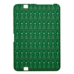 Christmas Tree Pattern Design Kindle Fire Hd 8 9  by Celenk