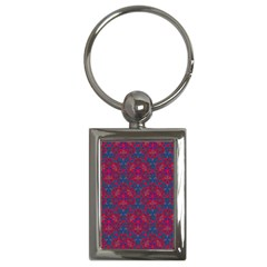 Bereket Red Blue Key Chains (rectangle)  by Cveti