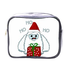 Yeti Xmas Mini Toiletries Bags by Valentinaart