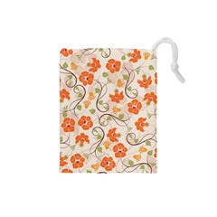 Honeysuckle Delight Drawstring Pouches (small)  by AllThingsEveryone