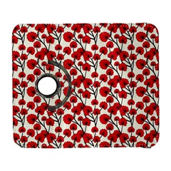 Red Flowers Galaxy S3 (flip/folio) by AllThingsEveryone