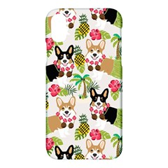 Hula Corgis Fabric Apple Iphone X Hardshell Case by Celenk