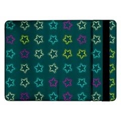 Spray Stars Pattern F Samsung Galaxy Tab Pro 12 2  Flip Case