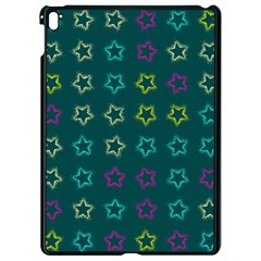 Spray Stars Pattern F Apple Ipad Pro 9 7   Black Seamless Case