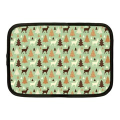 Reindeer Tree Forest Art Netbook Case (medium)  by patternstudio