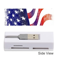 Usa Flag America American Memory Card Reader (stick)  by Celenk
