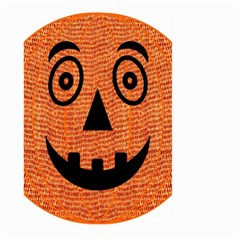 Fabric Halloween Pumpkin Funny Large Garden Flag (two Sides) by Celenk