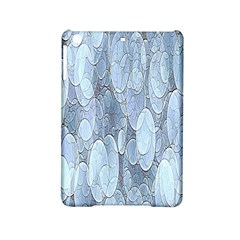 Bubbles Texture Blue Shades Ipad Mini 2 Hardshell Cases by Celenk