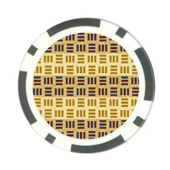 Textile Texture Fabric Material Poker Chip Card Guard by Celenk