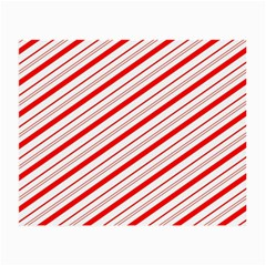 Candy Cane Stripes Small Glasses Cloth by jumpercat