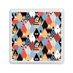 Abstract Diamond Pattern Memory Card Reader (square)  by allthingseveryday