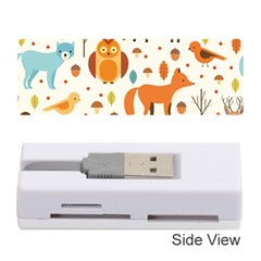 Woodland Friends Pattern Memory Card Reader (stick)  by allthingseveryday