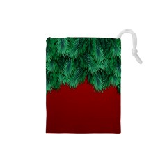 Xmas Tree Drawstring Pouches (small)  by jumpercat