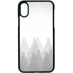 Winter Land Light Apple Iphone X Seamless Case (black) by jumpercat
