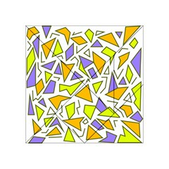Retro Shapes 04 Acrylic Tangram Puzzle (4  X 4 ) by jumpercat