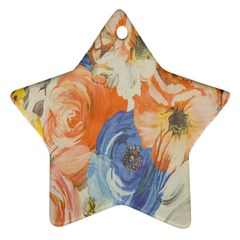 Texture Fabric Textile Detail Ornament (star) by Celenk