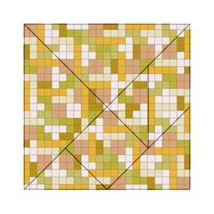 Tetris Camouflage Desert Acrylic Tangram Puzzle (6  X 6 ) by jumpercat