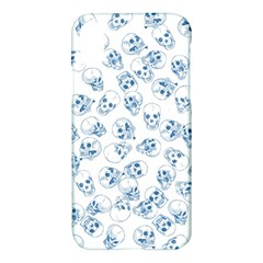 A Lot Of Skulls Blue Apple Iphone X Hardshell Case by jumpercat