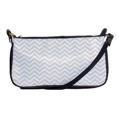Light Chevron Shoulder Clutch Bags by jumpercat
