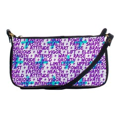 Hard Workout Shoulder Clutch Bags by jumpercat