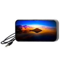 Crater Lake Oregon Mountains Portable Speaker