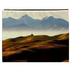 Landscape Mountains Nature Outdoors Cosmetic Bag (xxxl)