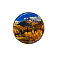 Colorado Fall Autumn Colorful Hat Clip Ball Marker (4 Pack)