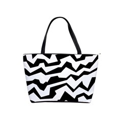Polynoise Bw Shoulder Handbags by jumpercat