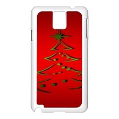 Christmas Samsung Galaxy Note 3 N9005 Case (white)
