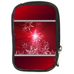 Christmas Candles Christmas Card Compact Camera Cases by BangZart