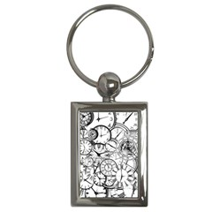 Time Clock Watches Time Of Key Chains (rectangle)  by BangZart