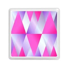 Gradient Geometric Shiny Light Memory Card Reader (square)