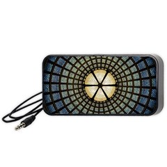 Stained Glass Colorful Glass Portable Speaker