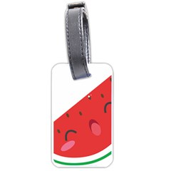 Watermelon Red Network Fruit Juicy Luggage Tags (two Sides) by BangZart