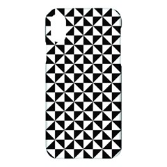 Triangle Pattern Simple Triangular Apple Iphone X Hardshell Case by BangZart