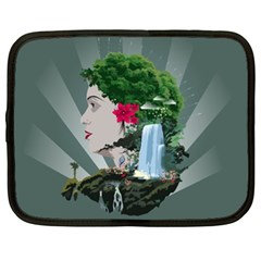 Digital Nature Beauty Netbook Case (xl)  by BangZart