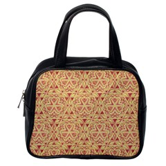 Tribal Pattern Hand Drawing 2 Classic Handbags (one Side) by Cveti